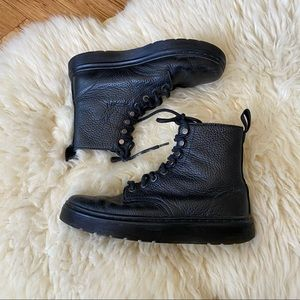 Dr. Martens Disc in Black Montreal Lux Size 6